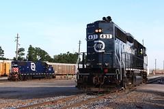 Bowden Yard (Fr8engineer) Tags: fec florida east coast gp402 emd gp382 railfan railroad bowden yard