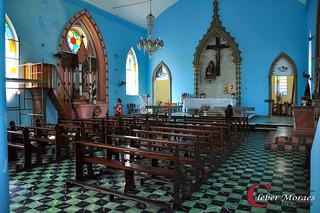 Salão Igreja Monte Serrat - Comendador Levy Gasparian - RJ - Brasil