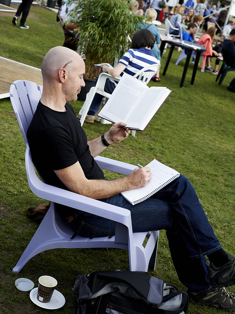 Reading in the Gardens