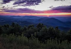 Saddle Overlook Sunrise (Michael Kline) Tags: rural sunrise virginia va floyd blueridgeparkway