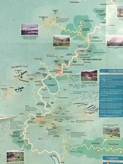 Tanah Rata trail map