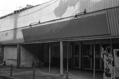 past glory - closed movie theater (eraplatonico) Tags: 120 film movie closed theater fuji glory 100 saitama kawagoe past acros iis plaubel makina f29 10cm anticomar