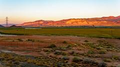 And That is a Utah Sunrise! (damneardone) Tags: morning sunrise landscape utah nikon sandstone farm aurora redrock i70 salina 18200mm d7100