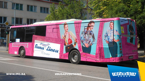 Info Media Group - Sana Linea, BUS Outdoor Advertising, Banja Luka 08-2015 (2)