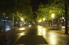Nat Stationsplein (josbert.lonnee) Tags: street reflection rain night nacht outdoor streetlights enschede nite regen straat wetstreet stationsplein spiegeling straatverlichting nattestraat