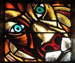 Debre Libanos (pdellouve) Tags: church stainedglass vitrail ethiopia orthodox churchwindow amhara debrelibanos