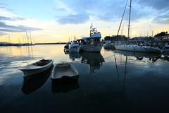 Pir_test Canon 17-40 lenses (spicros78) Tags: morning blue sea test sun sunrise boats flickr moody cloudy exploring explore greece canon5d piraeus saveourplanet canon17404l πειραιασ