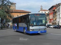Mercedes Integro n2256 in Via Leoni (AlebusITALIA) Tags: italy bus italia tram verona transportation publictransport autobus veneto tpl trasporti mobilit trasportipubblici atvverona