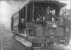 Botany tram, no.198, Sydney, NSW, n.d. / unknown photographer (State Library of New South Wales collection) Tags: statelibraryofnewsouthwales
