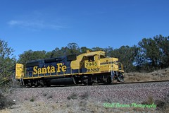 2015_10_20 Point Pinole Reg. Park, Calif.._14 (Walt Barnes) Tags: railroad santafe train canon landscape eos scenery engine rail scene cargo calif container locomotive freight bnsf emd intermodal pointpinole dieselelectric gp60m stacktrain 60d gp392 canoneos60d eos60d pointpinoleregpark wdbones99