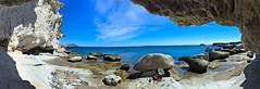Bajo acantilado Escullos, Almería. (eustoquio.molina) Tags: parque cliff de mar cabo pano gata almería acantilado panorámica escullos