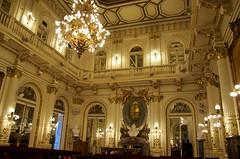 The opulent state rooms of Casa Rosada