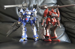 Armored Core - Mirage C01-GAEA-UN (Uncontrolled) Belonging Sapphirus Force Ver. (Marco Hazard - Knight of Ren) Tags: force mirage armored core ver sapphire belonging jash uncontrolled az01 izami c01gaeaun sapphirus