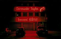Dortmunder Tropfen (Turikan) Tags: red black night fuji shot riva minolta mini alkohol dortmund schnaps nachts c200 krämer schnapsbrennerei