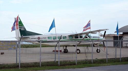 Bureau of Royal Rainmaking and Agricultural Aviation, Cessna 208B Grand Caravan, 1922, Hua Hin Airport Thailand, 9. october 2015.
