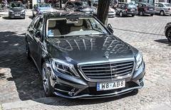 Poland Individual (Mazowieckie) - Mercedes-Benz S-Class W222 (PrincepsLS) Tags: berlin germany mercedes benz w poland plate polish license spotting individual sclass mazowieckie ab8 w222