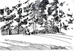 Central Park in Burnaby (Kira_Culufin) Tags: park vancouver sketch central burnaby marker