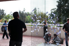 #TEDxPerth 2015 - Paper Planes (TEDxPerthOfficial) Tags: outside australia perth westernaustralia installations 2015 paperplanes perthconcerthall tedx tedxperth