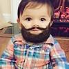 Haftasonu yuzumu dinlendireyim dedim, sakallari kesmedim :) #sakal #bebek #komik (hediye.mucidi) Tags: komik bebek sakal