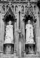 Immortalised in Stone (JKmedia) Tags: uk sculpture building tower church statue stone architecture canon buildings carved kent arch cathedral britain famous gothic masonry prince canterbury carving queen manmade ling royalty cofe princephilip queenelizabethii 2015 boultonphotography
