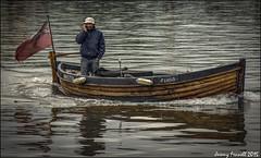The Boatman's call (Explored 21/11/2015) (zolaczakl) Tags: bristol november 2015 harbourside uk england southwest nikond7100 photographybyjeremyfennell boats people boatman mobilephone onthephone floss explored