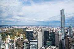 Central Park & 432 Park Avenue (Marek Lubas) Tags: nyc newyork centralpark manhattan gebuilding thetopoftherock 432parkavenue