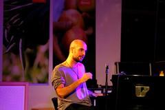 Shai Maestro 7467-4_8800 (Co Broerse) Tags: music composedmusic contemporarymusic jazz jazzfest jazzfestamsterdam amsterdam 2016 studiok cobroerse shaimaestrotrio shaimaestro piano frontman