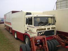 F314 UDG - John Scarrott (quicksilver coaches) Tags: northampton fairground erf funfair e10 sixfields eseries showmans scarrott f314udg