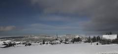 Village Enneige (Saydryk Photography) Tags: winter snow nature landscape village hiver bleu ciel neige paysage campagne
