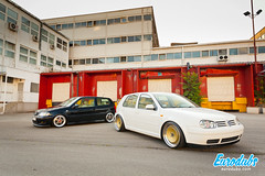 "MK4 & Polo 6N2 • <a style=""font-size:0.8em;"" href=""http://www.flickr.com/photos/54523206@N03/23037139790/"" target=""_blank"">View on Flickr</a>"