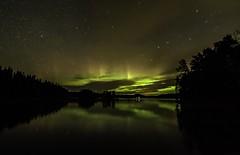 Sunstorm.. (Danne Rydgren) Tags: sky seascape clouds landscape astro astrophotography aurora sunstorm northernlights auroraborealis norrsken