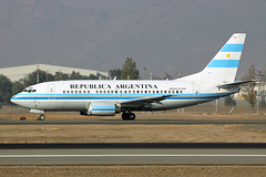 T-04 Argentine Air Force 737-5H6 Santiago SCL 15/05/2015 (Tu154Dave) Tags: chile santiago argentine military boeing airforce 737 scl 737500 t04 7375h6