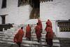 Thimpu, Bhutan (Sharif Ripon (totographer)) Tags: red color religious buddhist religion buddhism monks thimpu zong bhutanmonk