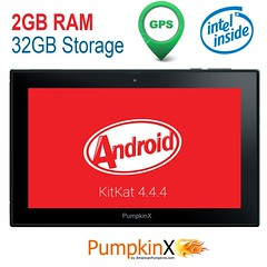 PumpkinX Tablet Intel Quad Core 10.1 I