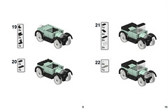 1920s Automobile - 5 (Sir Nadroj) Tags: auto 1920s ford car t model automobile lego convertible instructions