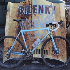 Both bike and #junkyardcross will be missed! #rip #custombicycles #weavercycleworks #cyclocross