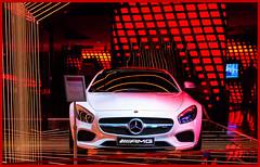 Won't you buy me a Mercedes Benz? (France through my eyes) (docoverachiever) Tags: france champsélysées amg 98116 vehicle highperformance new luxury mercedes power paris car 130k sportscar colorful automobile showroom white