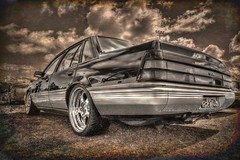 VL Commodore (Thunder1203) Tags: burnsideheights canon carshows cars classiccars coolcars customcars hdr hotrod ratrod thunder1203 westernrodderscartruckandbikeshow chopped vlholdencommodore gmh topaztextureeffects2 topaz topazbweffects2 topazsoftware photomatix