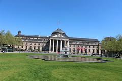 501 r Wiesbaden 2016 Kurhaus (Rhein 2015) Tags: rheinkilometer 501 wiesbaden kurhaus kurpark rheingau oberrhein hessen deutschland germany allemagne duitsland germania rhein rhine rhin rijn reno