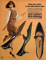 Miss America Shoes (jerkingchicken) Tags: sixties 60s vintageshoes