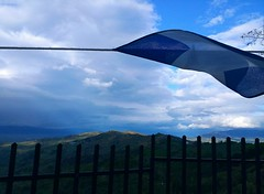 Autumn sky /   (Ath76) Tags:       europe europa mediterranean mediterraneo mittelmeer medelhavet greece grecia grce griechenland grekland autumn fall autunno storm sky phiotis view