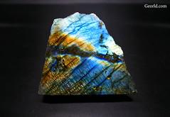 Labradorite specimen (Georld.com) Tags: labradorite rainbow rock mineral stone specimen