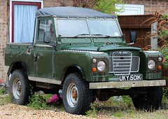 UKY 501K (3) (Nivek.Old.Gold) Tags: 1972 land rover 88 series 3 softtop 2495cc diesel