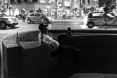 The night is moving (Gianni Di Leo) Tags: tel aviv seaside hat