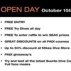 The London School of Diving Open Day is the 15th October! #free try dives! #padi #scuba #scubadiving #festival #cool #event #underwater #LSD www.lsdscuba.com (lsdscuba) Tags: ifttt instagram scuba lsd