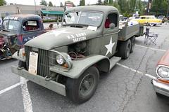 Military Truck by Gary Estes (bballchico) Tags: ratbastardscc ratbastardscarshow garyestes carshow militarytruck rendition 194143gmccckw wwii 206 washingtonstate