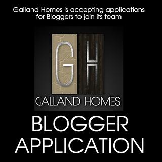 Galland Homes Blogger Application
