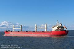 FEDERAL CLYDE (9671072) (005-08.10.2016) (HWDKI) Tags: federalclyde imo 967072 schiff ship vessel hanswilhelmdelfs delfs kiel elbe bulkcarrier massengutfrachter bulker mmsi 538006470