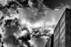 """Before the Storm"" (Week 16/52) (milmonfharrison) Tags: glass reflection building geometric sacramento california northerncalifornia 7003000 70300mmf4556 storm seasons autumn rain fall"
