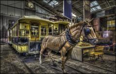 Crich Tramway Museum (Darwinsgift) Tags: crich tramway village matlock derbyshire national tram museum hdr photomatix voigtlander 20mm f35 color skopar nikon d810 tourism england uk